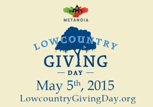 With Lowcountry Giving Day coming up on May 5th, you'll have the opportunity to amplify your investment in Metanoia!